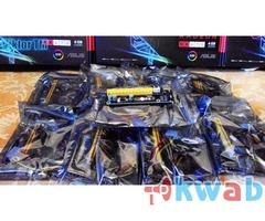 Материнка ASRock H81 Pro BTC R2.0 и райзера