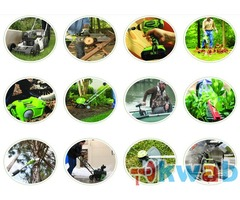 Электрический и аккумуляторный инструмент марки Greenworks