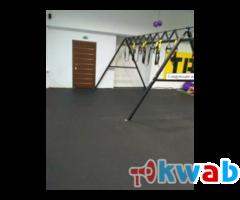 Спортивные резиновые покрытия для фитнеса и спорта