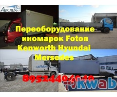Бортовые платформы Man Hyundai Isuzu  еврокузова купить  фургон на Volvo Tata Iveko Toyota