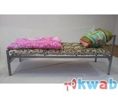 Металлические кровати эконом класса, одноярусные, двухъярусные кровати