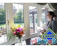 Установка окон балконов ПВХ от производителя VEKA