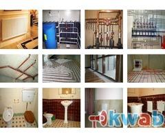 Установка отопления и водоснабжения под ключ