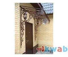 Металлоконструкции входные двери кованные ворота