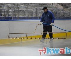 Заливка катка во дворе, на стадионах, в ледовых комплексах