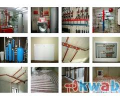 Установка систем отопления и водоснабжения в Наро-Фоминске