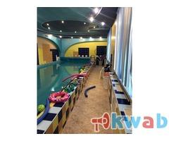 Бесплатное занятие в сети детских школ плавания Океаника.