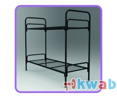 Недорогие кровати металлические в бытовки, времянки