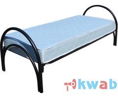 Кровати металлические купить с доставкой, одноярусные, двухъярусные