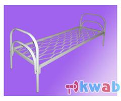 Металлические кровати для воинских частей, туристических баз
