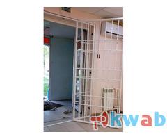Дверь-решетка металлическая любых размеров