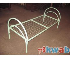 Металлические кровати в интернаты