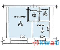Продам 1-к квартиру 22 кв.м