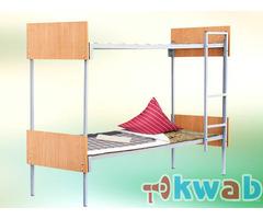 Трехъярусные металлические кровати со сварной сеткой