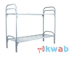 Кровати металлические одноярусные прочные
