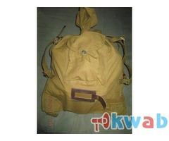 Вещевой мешок солдатский. Сделано в СССР. Не б/у. Обьем 30 литров
